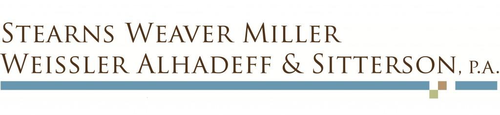 Best of Doral™ Law Firms presents Stearns Weaver Miller.