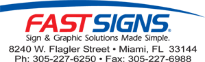 Best of Doral™ top businesses presents FastSigns.